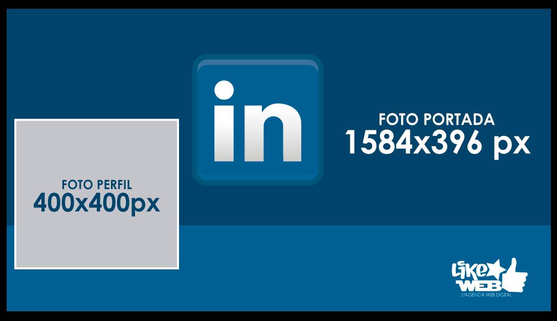 Likeweb - Blog 5 - Tamaño Perfil y Portada Linkedin 2020