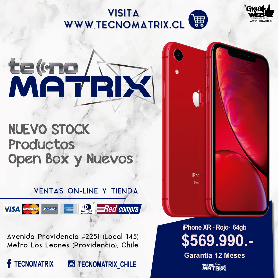 Likeweb Chile - Black Friday 2019 Chile - Iphone Teconmatrix