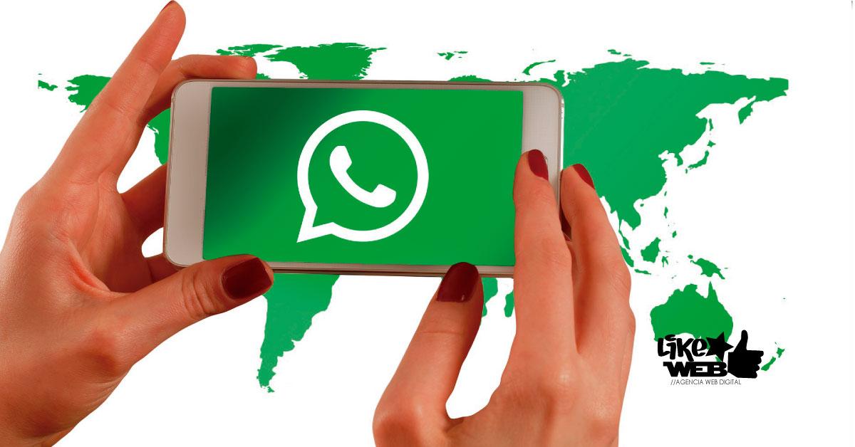 LikeWeb Chile -Whatsapp cumple 10 años - Mundo