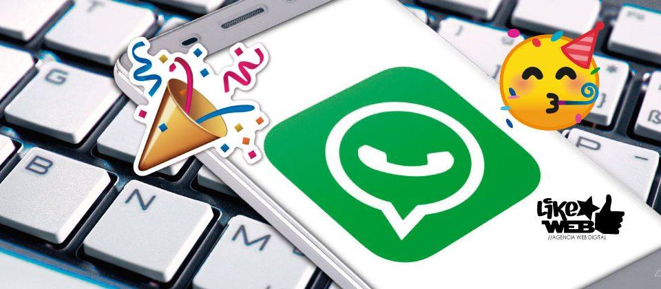 LikeWeb Chile -Whatsapp cumple 10 años -- Portada